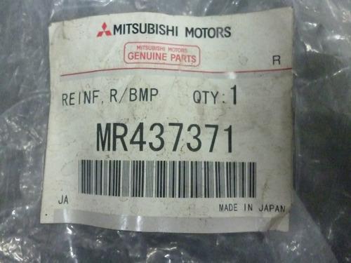 refuerzo parachoque r tras mitsubishi montero 01-02 original