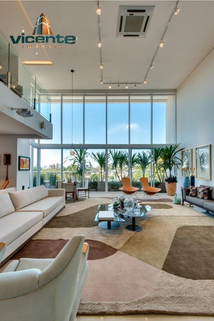 refugio de paz e tranquilidade! apartamentos de 286,82 m² e 320,43 m² com 4 suítes, 5 vagas de garagem e lazer completo. residencial opus verti - cod-0031 - 68093617