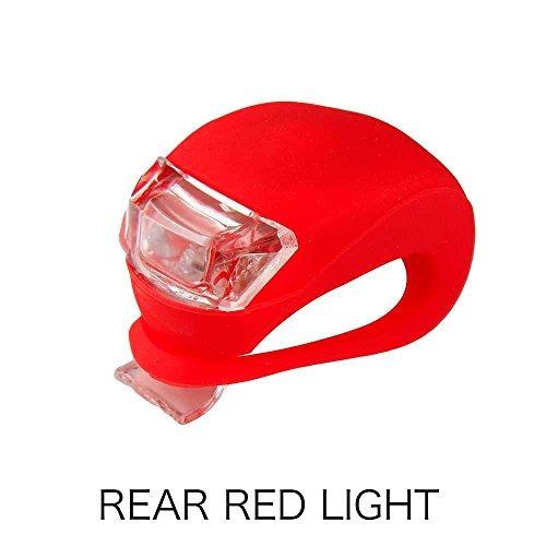 refun luz de la bicicleta, sistema delantero y posterior de