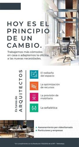 refuncionalización de espacios de trabajo. oficinas y casas.