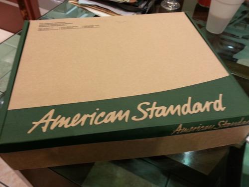 regadera acero completa american standar, nueva envio gratis