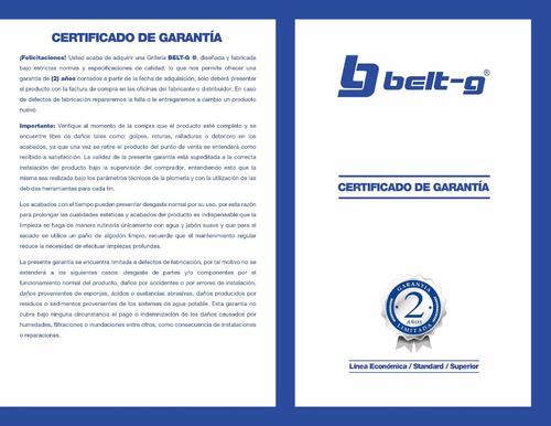 regadera anticalcarea 6 modelo esfera belt-g gri-0237