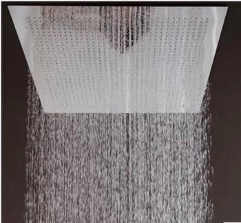 Regadera de ba o sahara tipo lluvia 50 cm cromo for Regaderas para bano guatemala