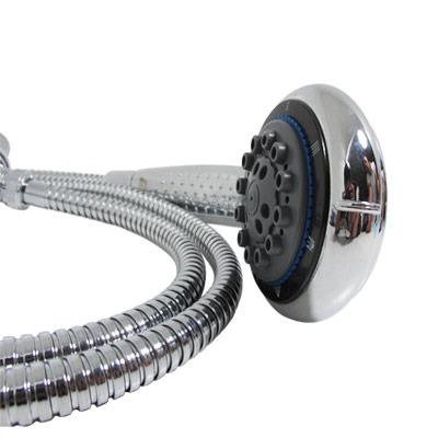 Regadera de telefono nutria metalflu en for Regadera de telefono