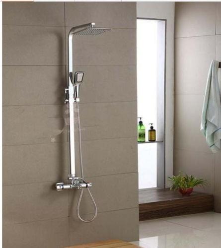 Regadera De Baño Moderna:Regadera Moderna Para Baño Cuadro Con Tipo Telefono Cromada – $ 6,990
