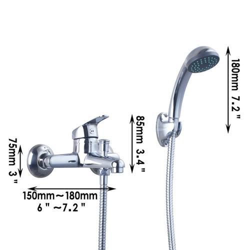 Sonar Con Regadera De Baño:Regadera Moderna Para Baño Con Extension Tipo Telefono – $ 1,99000