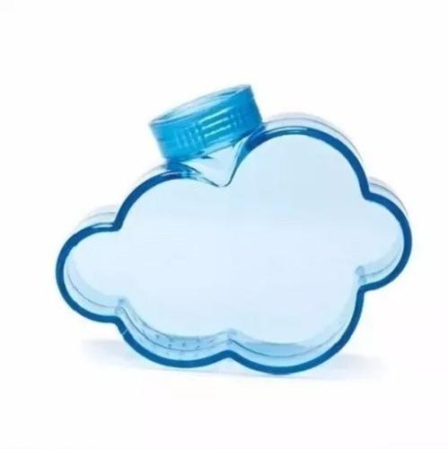 regador regadera en forma de nube agua lluvia para botella