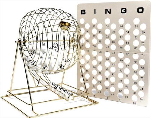 regal juegos jumbo profesional latón bingo de ping pong b