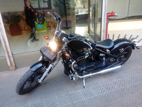 regal raptor 350cc color negro nueva