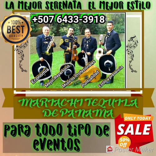 regala la mejor serenata, con el mariachi tequila de panama