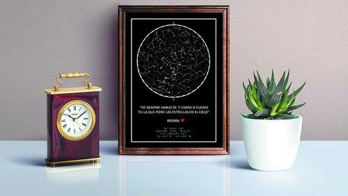 regalo 14 febrero aniversario novios starmap personalizado