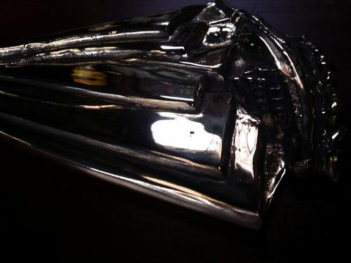 regalo adorno para estufa a leña en bronce velero