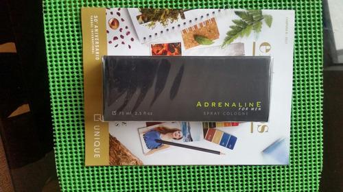 regalo aniversario perfume hombre adrenaline unique nuevo