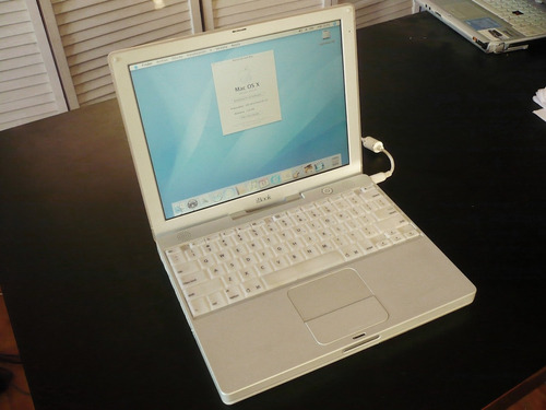 regalo apple ibook g3 600mhz de colección y en gran estado