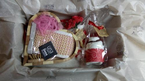 regalo arreglo caja sorpresa detalle 14 febrero