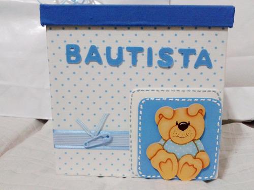 regalo bebe nacimiento cajas ajuar personalizadas con nombre