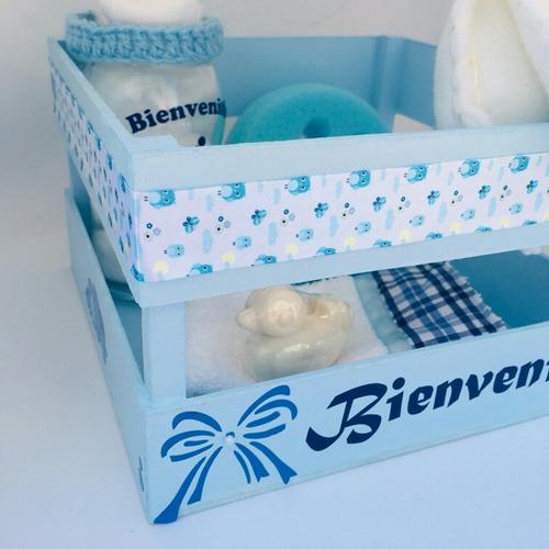 regalo bebé nacimiento - cajoncito bienvenida -  nro 2