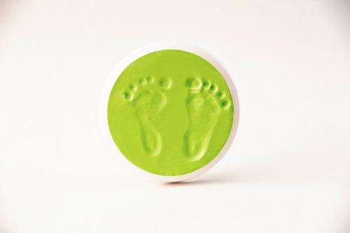 regalo bebés - masa de secado rápido - huellitas bebé