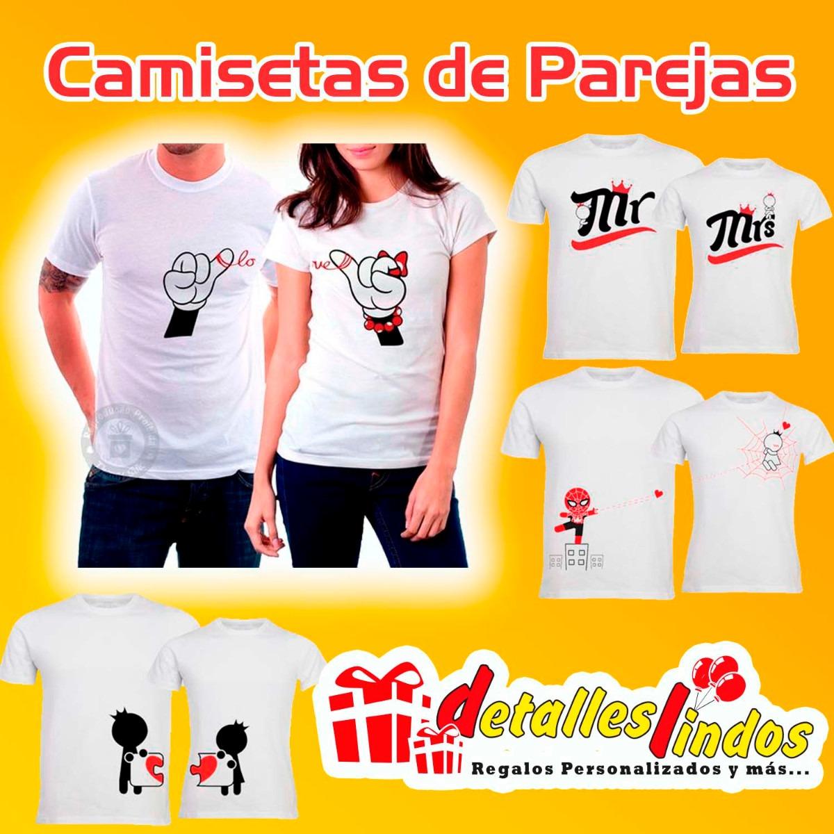 regalo camisetas pareja con tú mensaje personalizado. Cargando zoom. d77c181f1cc