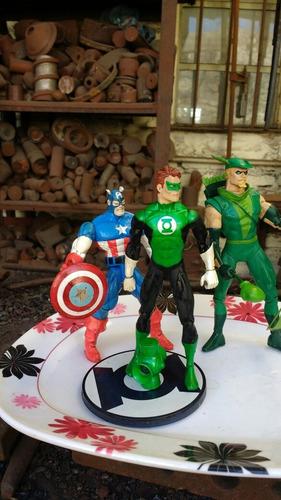 regalo c/u capitan america linterna verde
