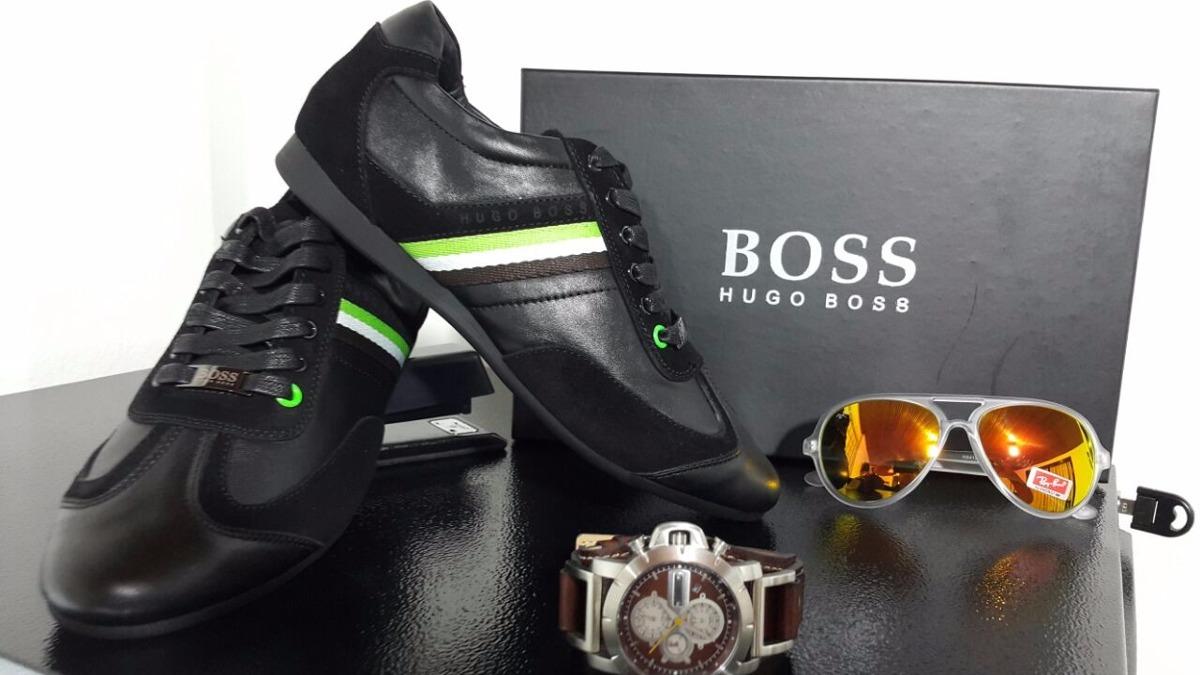 23cdb00b33ec5 Regalo De Navidad Zapatillas Tenis Hugo Boss Hombre Original ...