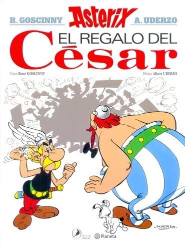 regalo del cesar,el - asterix 21 - rene goscinny
