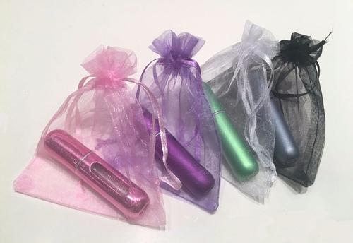 regalo dia amigo x 10 u. perfumero recargable 5ml atomizador