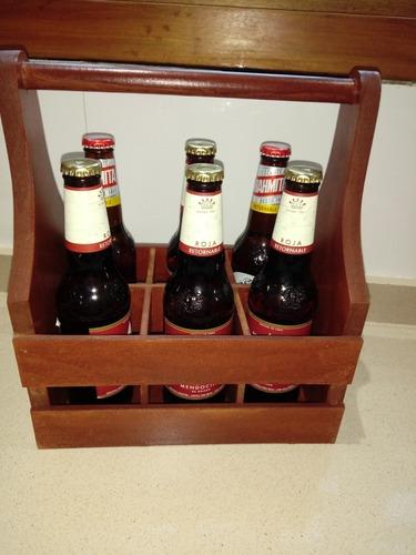 regalo día del amigo! cajon con 6 cervezas!