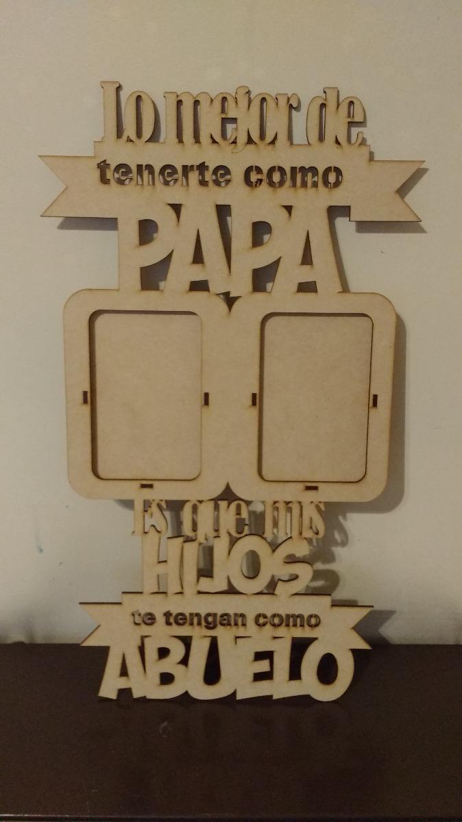 Regalo Día Del Padre Para Abuelos Portarretratos 27000 En