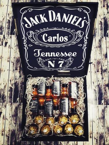 regalo empresarial navidad fin de año whisky y bombones 2019