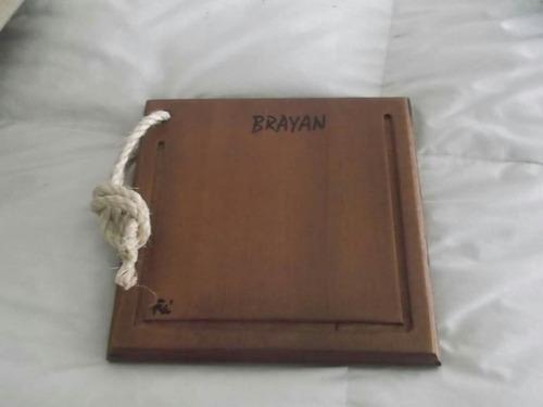 regalo empresarial - tabla para asado individual en cedro
