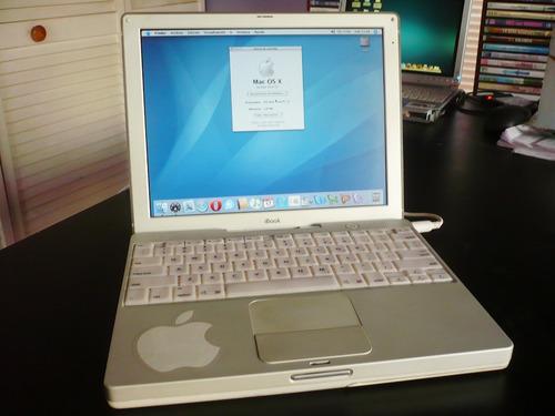 regalo hermoso apple ibook g3 de colección y en gran estado