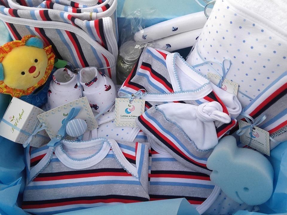 Regalo Nacimiento Set Grande  5 Para Bebe 17 Piezas En Caja ... b8764b60f057