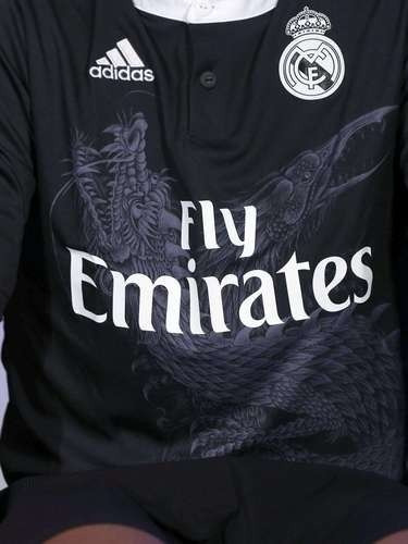 1e1b39745b45c Regalo Navidad Uniforme Real Madrid Niño Dragon Negro James ...