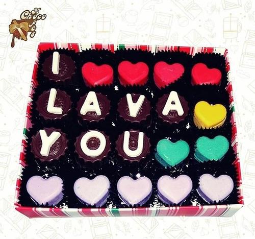 regalo para aniversario - bombones de chocolate