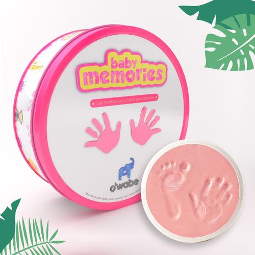regalo para bebés - masa de secado rápido - huellitas bebé