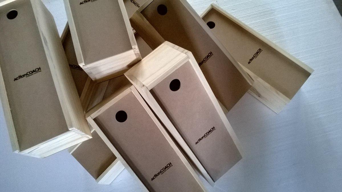 regalo para empresas caja para vino en madera