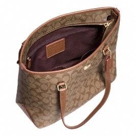 regalo para mama!!! bolsa coach zip tote in signature f34603