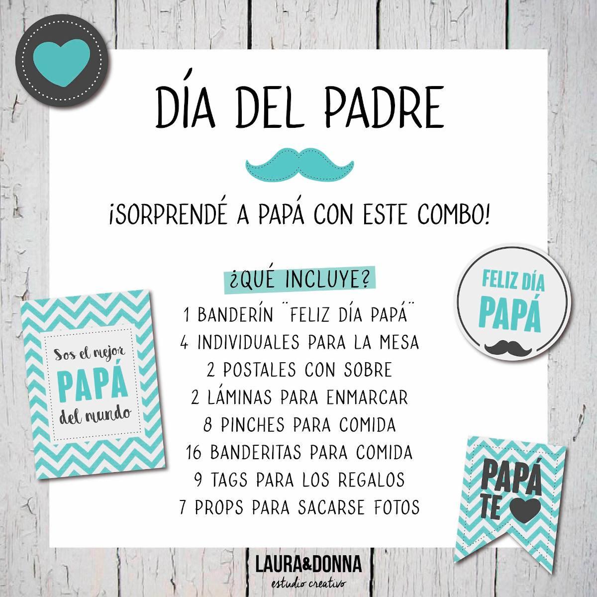 Regalo Para Papá / Decoración / Día Del Padre - $ 485,00 en Mercado ...