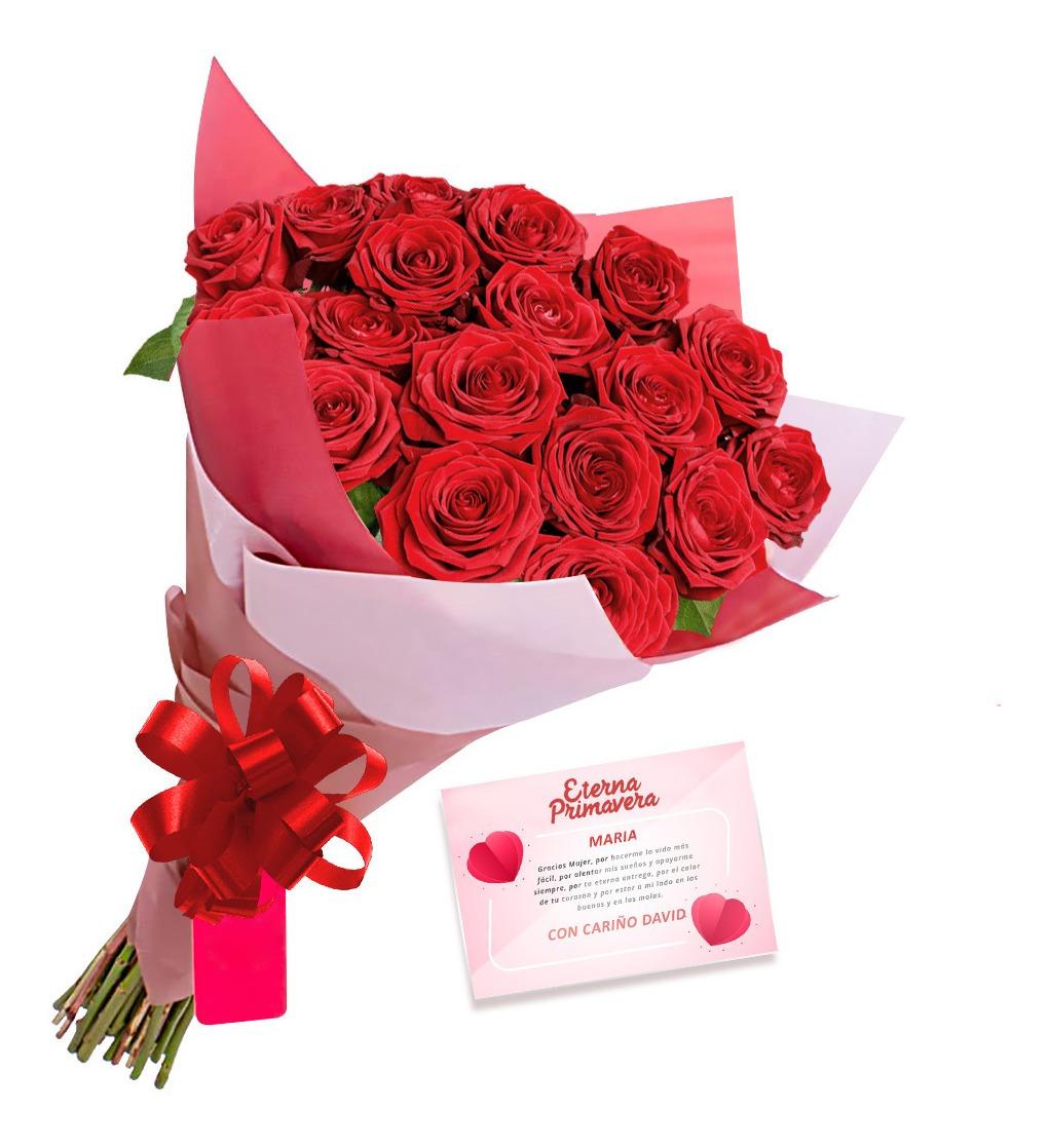Regalo Ramo 12 Rosas Aniversario, Cumpleaños Envío A Bogotá - $ 70.000 en  Mercado Libre