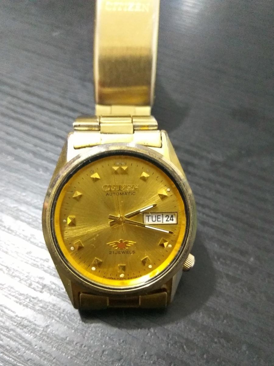 4195575d1c36 Regalo Reloj Citizen Hombre Águila 7 Automático Antiguo -   320.000 ...