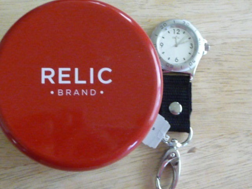 regalo, reloj original relic pr-6103 fabricado por fossil