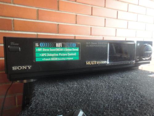 regalo vhs sony hi fi stereo para reparar o repuesto