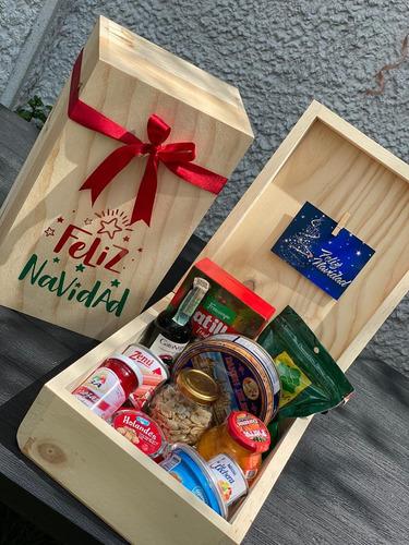 regalos anchetas  navidad personalizado