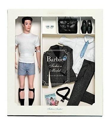 regalos de moda mattel fashion insider silkstone ken doll