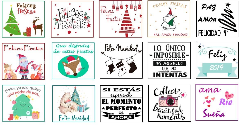 Regalos Difusores Aromáticos Felices Fiestas Navidad Frases