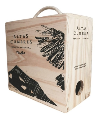 regalos empresarial malbec bag in box las vasijas