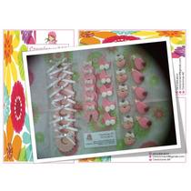 Apliques Miniaturas, Baby Shower, .masa Flexible.