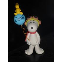 Snoopy En Masa Flexible Adorno Para Tortas