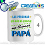 Tazas Personalizadas - Dia Del Padre -sublimacion - Modelo 4